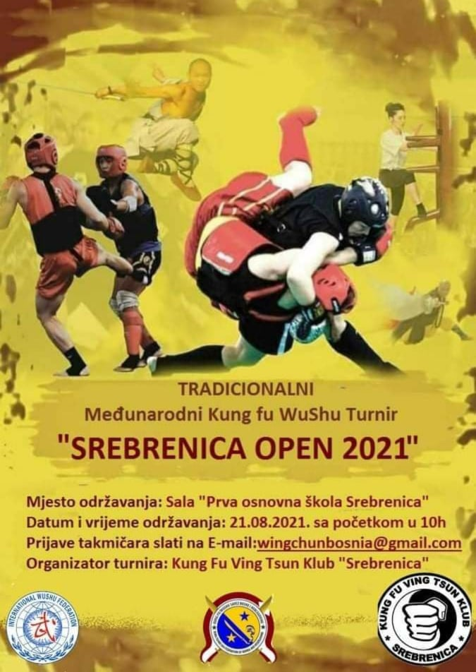 "Poziv: Međunarodni Kung fu WuShu turnir ""Srebrenica Open ..."